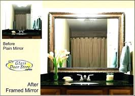 wood framed bathroom mirrors. Wood Framed Bathroom Mirrors Timber Oak .