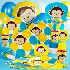 monkey party theme image. \ 1st Birthday Cakes Ideas and Pictures