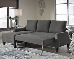 Image Modern Large Jarreau Sofa Chaise Sleeper Gray Rollover Ashley Furniture Homestore Sleeper Sofas Ashley Furniture Homestore