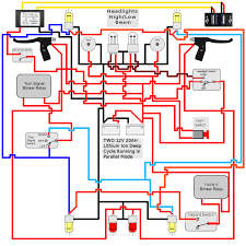 installing turn signals electricscooterparts com support here is an updated version of my diagram hopefully taking care of all the issues except for the fuse circuit breaker you mentioned