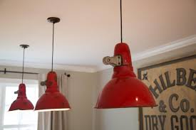 red barn pendant light fixtures