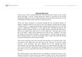 jekyll and hyde gcse english marked by teachers com document image preview
