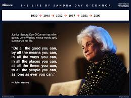 Image result for Sandra Day O'Connor words
