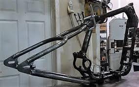 sportster hardtail frame ebay
