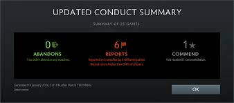 dota 2 conduct summary and low priority faq