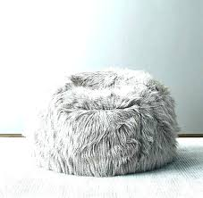 fur bean bag chair white fur bean bag chair white bean bag chairs for s fur fur bean bag chair