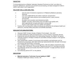 Stunning Phlebotomy Resume Sample Gallery Simple Resume Office