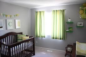 Caleb's Grey, Green & Yellow Nursery