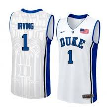 Kyrie irving #1 duke basketball jersey size medium champs college stitched ncaa. Nike Kyrie Irving Duke Blue Devils 1 Authentic Performance Jersey White