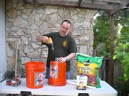 7 dollar self watering bucket diy how to make each container 1 7