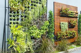 Vertical Garden planting systems