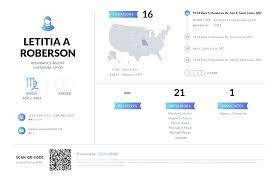 Letitia A Roberson, (323) 934-6109, 9124 Ranch Meadows Dr, Saint Louis, MO  | Nuwber