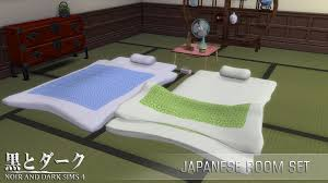 Sims Bedroom My Sims 4 Blog Japanese Bedroom Set By Noiranddarksims