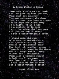 a dream in a dream by edgar a poe poetry poem poetry a dream in a dream by edgar a poe poetry poem