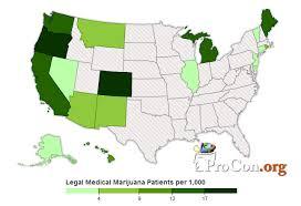 2014 Number Of Legal Medical Marijuana Patients Medical