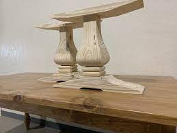 unfinished wooden tulip 18 tall legs