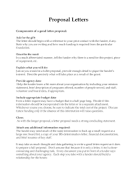 Free Company Business Proposal Letter Templates At