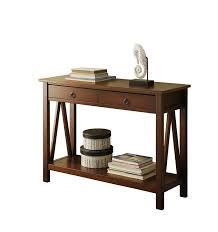 Amazoncom Linon Home Decor Titian Antique Console Table Kitchen