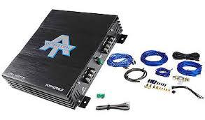 new autotek ata1200 2 1200 watt 2 channel car audio amplifier amp new autotek ata1200 2 1200 watt 2 channel car audio amplifier amp wire kit
