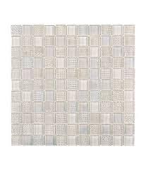 white square glass mosaic tile
