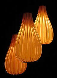 trendy lighting shades ideas hanging from above unique lighting accessories made from wood