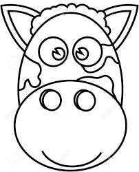 childrens coloring book zebra stock vector 88083751