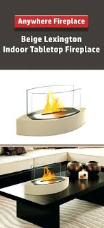 smlf indoor tabletop ethanol fireplace coffee table uk anywhere beige