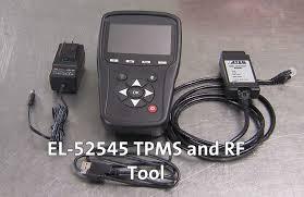 New El 52545 Tpms And Rf Tool Makes Tpms Sensor Relearn Easy