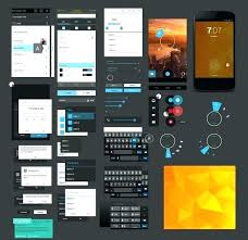 Mobile App Design Templates Apps Template Android Ui Free High