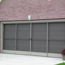 sliding garage door screen photos