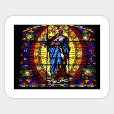 exclusive montalcino church stained glass window