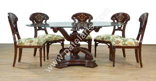 indian carved dining table. wooden dining tables, carved sets, table india, wood indian t