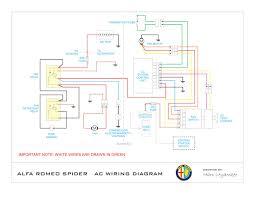 alfa romeo spider wiring diagram circuit and wiring diagram alfa romeo spider ac wiring digram