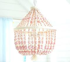 wood bead chandelier pink dahlia chandelier pottery barn kids wood bead chandelier wood bead chandelier small