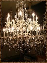 vintage venetian crystal chandelier 16 light 26 w x 34 h amazing crystals lqqk 467723942