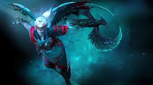 dota 2 vengeful spirit warriors girls fantasy games