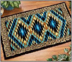 latch hook rug patterns kits rugs home decorating