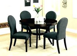 dark wood round table and chairs black brown dining table set kitchen round table and chairs dark wood