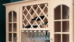 make wine rack cabinet