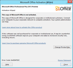 How To Activate Microsoft Office 2013 Online For Free