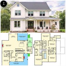 bedroom modern two story farmhouse plans design farm house floor love rooms plan large old style