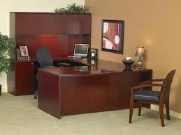 cherry custom home office desk. U Shaped Office Desk With Hutch Transitions Custom Desks Executive X21 Home Cherry
