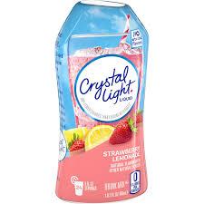 Crystal Light Ready To Drink 6 Pack Crystal Light Liquid Strawberry Lemonade Drink Mix