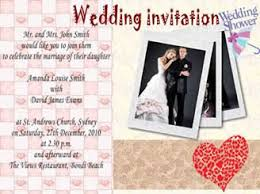 collage wedding invitations how to make a wedding invitation card