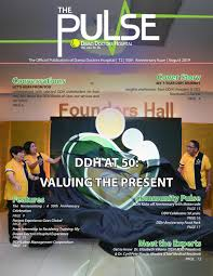 Iloilo Mission Hospital Organizational Chart Ddh At 50 Valuing The Present By Davao Doctors Hospital Issuu
