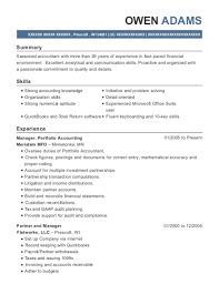 Best Portfolio Accountant Resumes Resumehelp