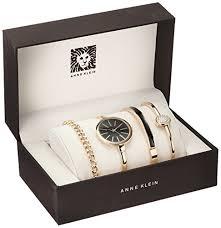 anne klein women s ak 1470gbst gold tone watch and bracelet set gold tone watch and bracelet set