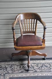 antique wooden swivel desk chair antique furniture
