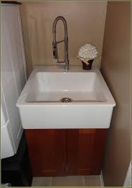 cute utility sink cabinet for home design ideas with stainless steel utility sink with cabinet