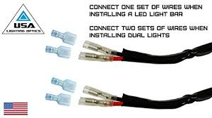 led light bar wiring diagram rzr led image wiring 1 40 amp universal wiring harness for off road led light bars on led light bar